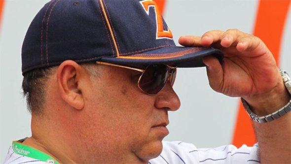 Jorge Urribarri, del comité deportivo de Águilas, dijo que buscan jugadores veteranos. Foto: Líder