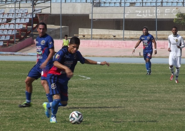 Jefferson Savarino marcó el gol de Zulia FC. Foto: Prensa Zulia FC.