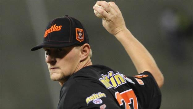 Bibens ha sido uno de los mejores lanzadores de Águilas. Foto: Líder.