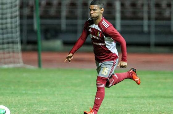 Jose Caraballo es uno de los delanteros de la sub 17 venezolana. Foto: Líder