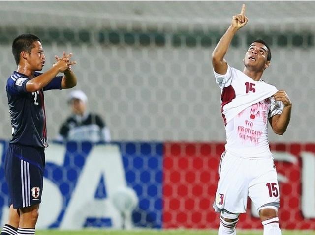 José Caraballo marcó el único tanto venezolano.