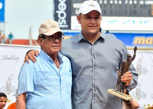 Miguel Cabrera no pudo asistir a la ceremonia de entrega al premio al mejor venezolano en las Grandes Ligas.