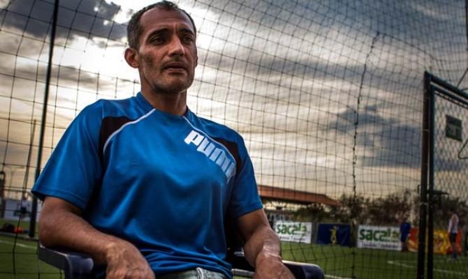 Juan García, presidentede la Asociación Única de Futbolistas Profesionales de Venezuela