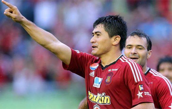Andrés Sánchez marcó el tanto de la victoria capitalina. Foto: Líder