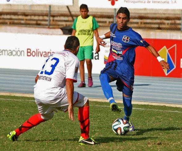 Andrés Montero, juvenil ante Zulia FC, ha mostrado su talento. Foto: