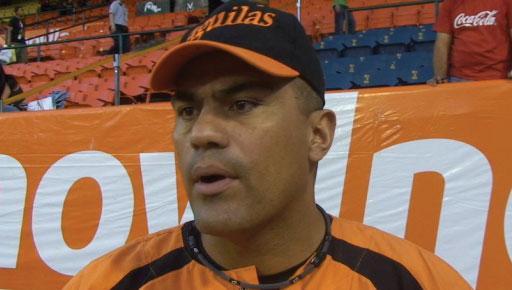 Eduardo Pérez está de regreso con las Águilas. Foto: El Universal