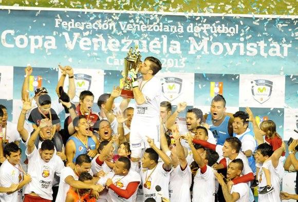 Los rojos del ávila son los actuales campeones de la Copa Venezuela.