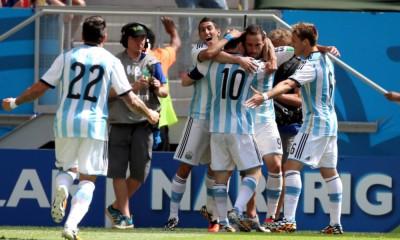 Fue el primer gol de argentino en este mundial.