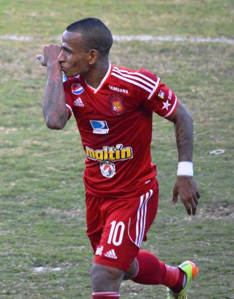 Rómulo Otero marcó el tanto de la victoria del rojo.