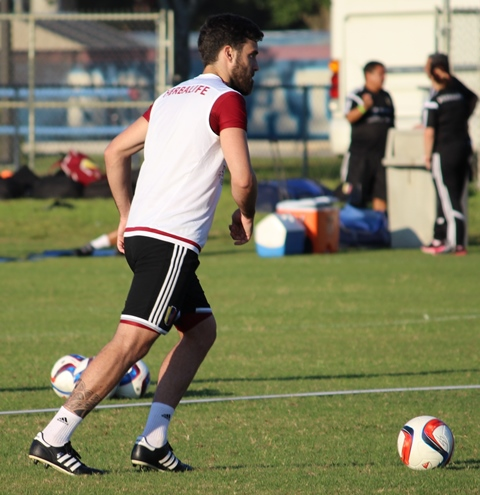 Andrés Tuñez será una de las variantes venezolanas. Foto: Gilberto González.